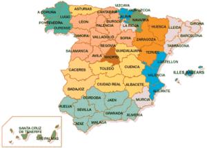 provincias-españa