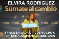 Elvira Rodriguez, nacida en Madrid y diputada por Jaen