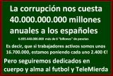 La corrupción 40.000 millones