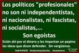 Los políticos profesionales