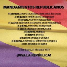 Mandamientos republicanos