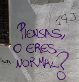 Piensas ol eres normal