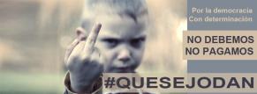 #quesejodan niño