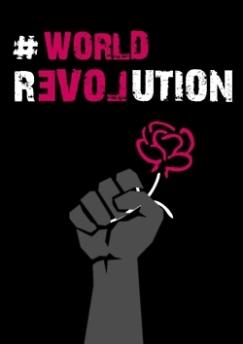 World revolution puño flor